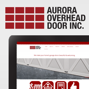 Aurora Overhead Door - Beakbane Brand Strategies and Communications