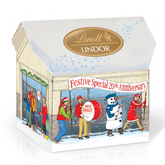 Icon - Lindt - Swiss Chalet Festive Special