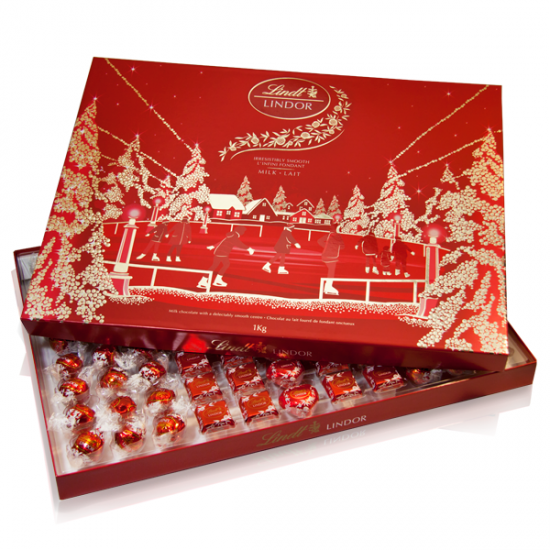 Icon - Lindor 1Kg Christmas box